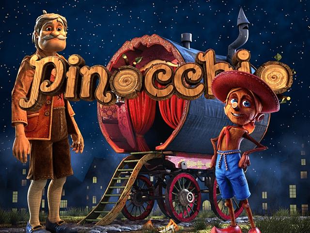Азартные игры 777 Пиноккио онлайн