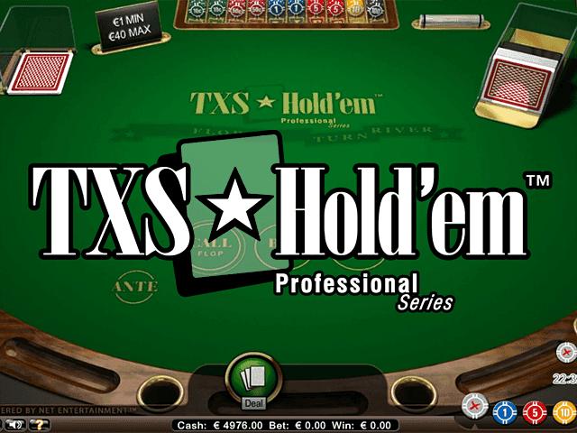 Покерный онлайн-автомат TXS Hold'em Pro Series