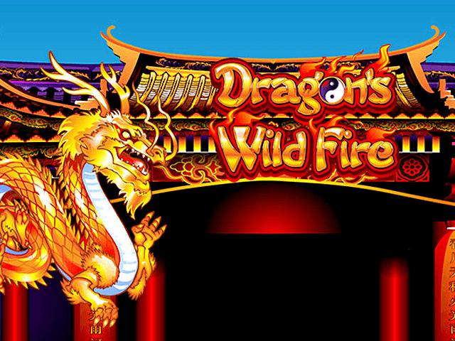 Игровой автомат Бушующее Пламя Дракона
