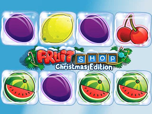 На сайте запускайте азартную игру Fruit Shop Christmas Edition
