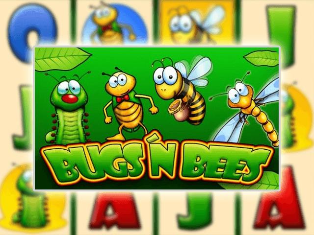 Выигрывайте в азартной игре сайта Bugs & Bees