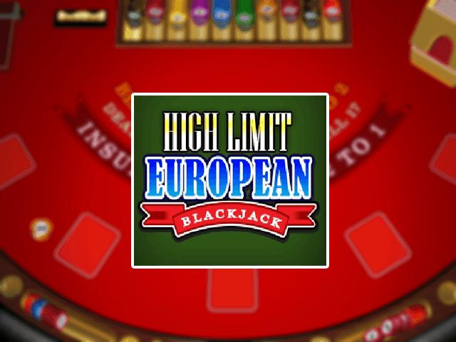 Игровой автомат High Limit European Blackjack